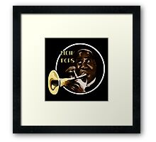 Louis Armstrong - Blow Pops Framed Print