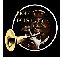 Louis Armstrong - Blow Pops Photographic Print
