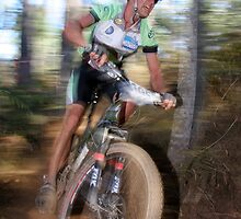Downhill Blur by fotosports