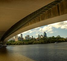 Captain Cook Bridge by hans p olsen