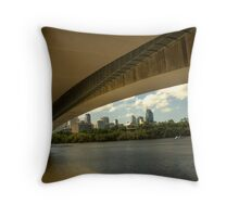 Captain Cook Bridge Throw Pillow
