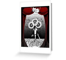 Off Theatre Greeting Card