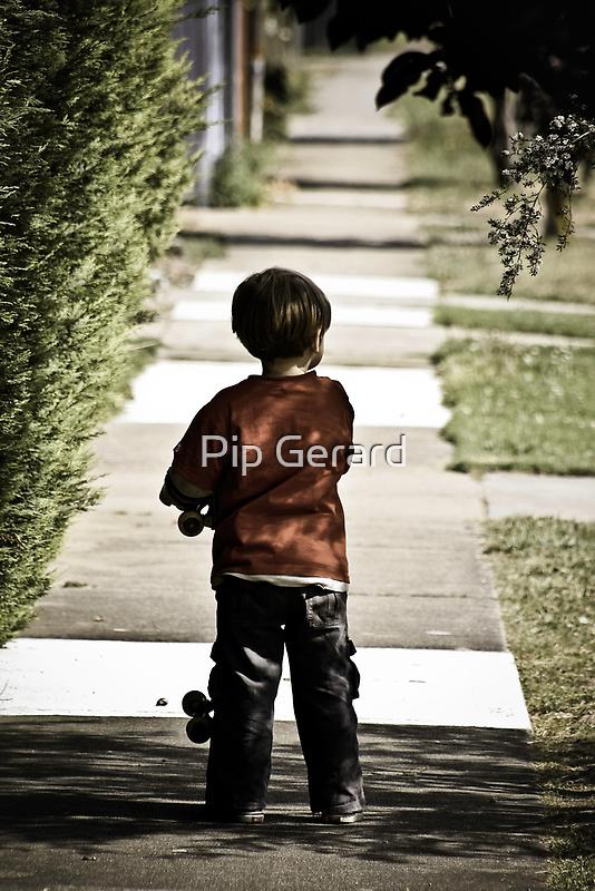 Skater Boys Tunnel Vision by Pip Gerard