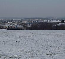 Snowscape, Bristol, England by karenuk1969