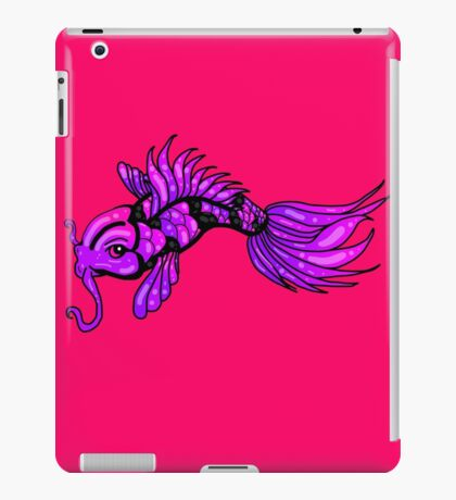 Purple Koi Fish iPad Case/Skin