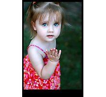 Pink Dress Photographic Print
