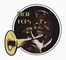 Louis Armstrong - Blow Pops Kids Clothes