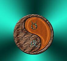 Taurus & Dog Yang Wood by astrodesigner75