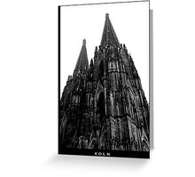Koln, Germany, Cologne Cathedral Greeting Card