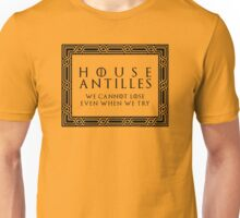 House Antilles (black text) Unisex T-Shirt