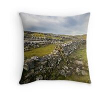 Above Malham Cove - Yorkshire Throw Pillow