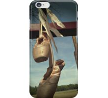 Pointe Shoes on the Playground  iPhone Case/Skin