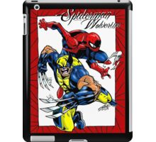 Thwip and Snikt iPad Case/Skin