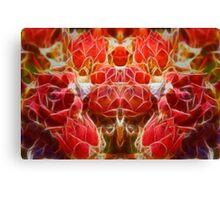 Cactus Fractalius Canvas Print