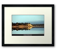 Time for reflection in the Outback Framed Print