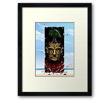 Fall to Dust Framed Print