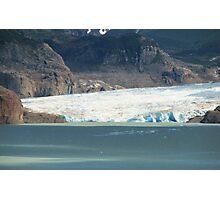 Grey Glacier Photographic Print