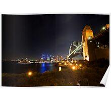Sydney In Twilight  Poster