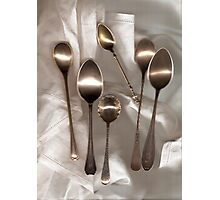 spoons Photographic Print