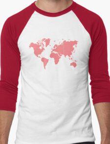 Love planet Men's Baseball ¾ T-Shirt
