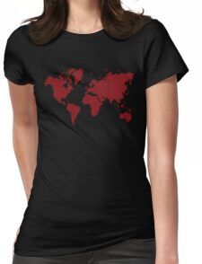 Love planet Womens Fitted T-Shirt