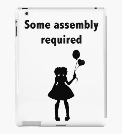 Some assembly required - BJD iPad Case/Skin