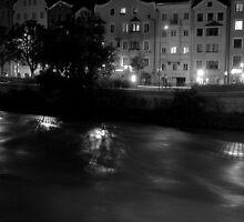 Inn River at Innsbruck, Tyrol (Austria) by sstarlightss