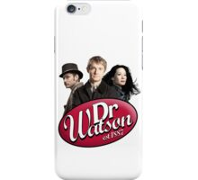 Dr Watson - 3 Representations iPhone Case/Skin