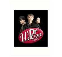 Dr Watson - 3 Representations Art Print