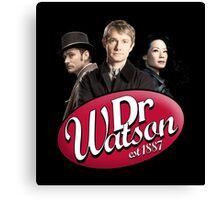 Dr Watson - 3 Representations Canvas Print