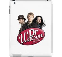 Dr Watson - 3 Representations iPad Case/Skin