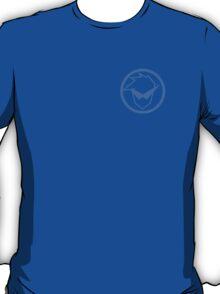 Gurren Lagann - Kamina Badge (Blue) T-Shirt