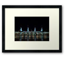 Gateways of DCA Framed Print