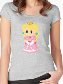 Mini Peach Women's Fitted Scoop T-Shirt