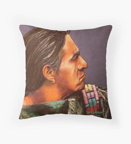 Spirit Guidance Detail #3 Throw Pillow