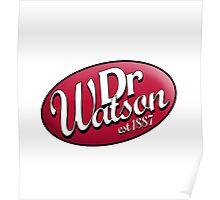 Dr. Watson est 1887 Poster