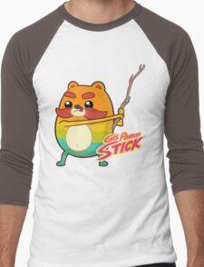 Gas Powered Stick Men's Baseball ¾ T-Shirt