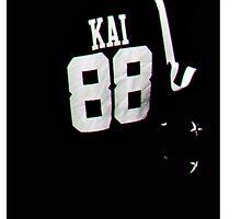 EXO KAI JERSEY 88 WOLF by kaybex