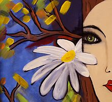 She is Nature by Vickie  Scarlett-Fisher