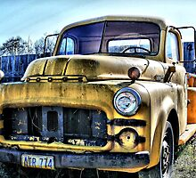 Junk Yard Dodge by Stephen  Van Tuyl