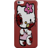 Zombie Hello kitty iPhone Case/Skin
