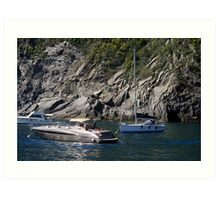 Yachts and Yachts  Art Print