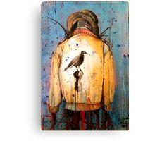Scarecrow Gone Phishing Canvas Print