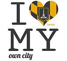 Baltimore | Maryland #ilovemyowncity Photographic Print