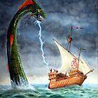Sea Serpent by Englandken