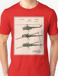 Helicopter Patent - Colour T-Shirt