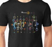 Kingdom Hearts Keyblades Unisex T-Shirt
