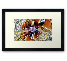 Dragon Lily Framed Print