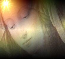 Azrael, Healer of Grief. by Juana Maria Garcia Domenech