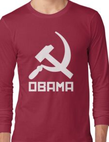 Communist Obama Long Sleeve T-Shirt